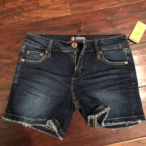 Tilly's denim girls shorts size